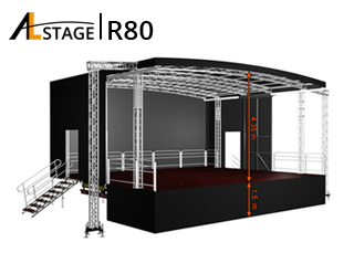 Mobile Stage AL Stage R80