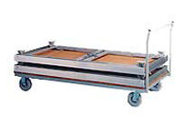 Stage equipment - Transport trolleys and cases for platforms and railings